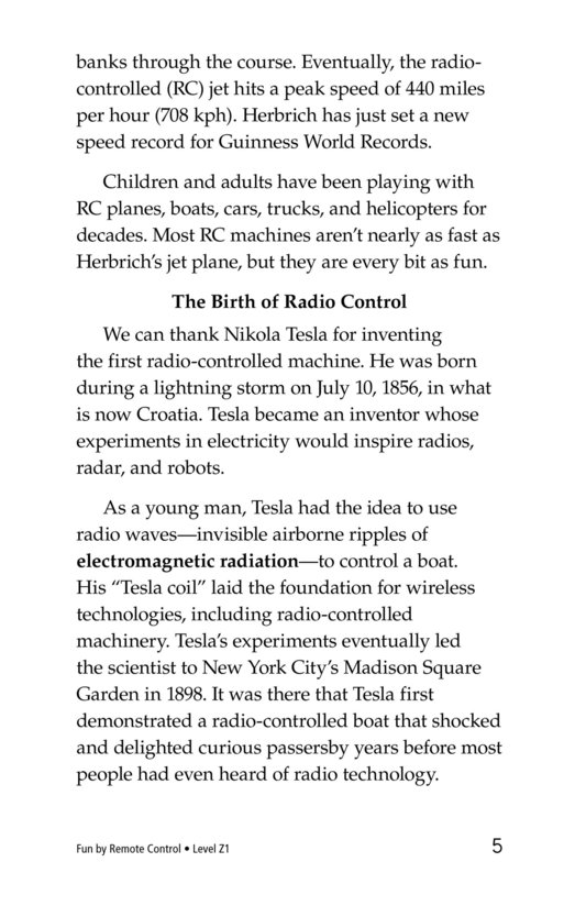 Book Preview For Fun by Remote Control Page 5