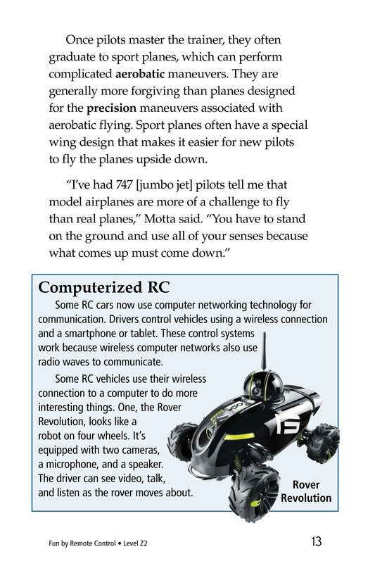 Book Preview For Fun by Remote Control Page 13