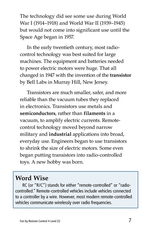 Book Preview For Fun by Remote Control Page 7