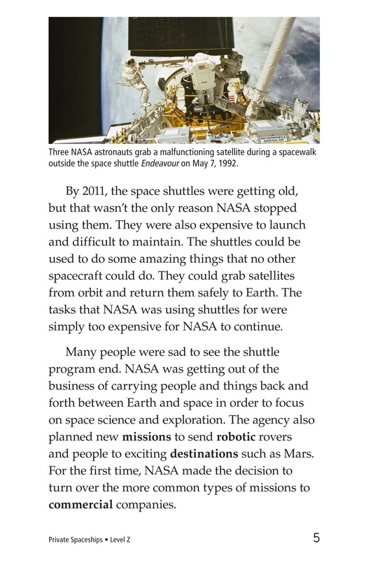 Book Preview For Private Spaceships Page 5