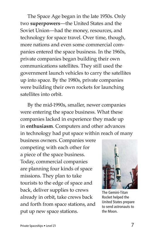 Book Preview For Private Spaceships Page 7