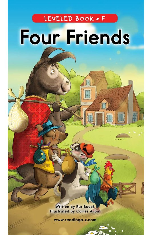Book Preview For Four Friends Page 0