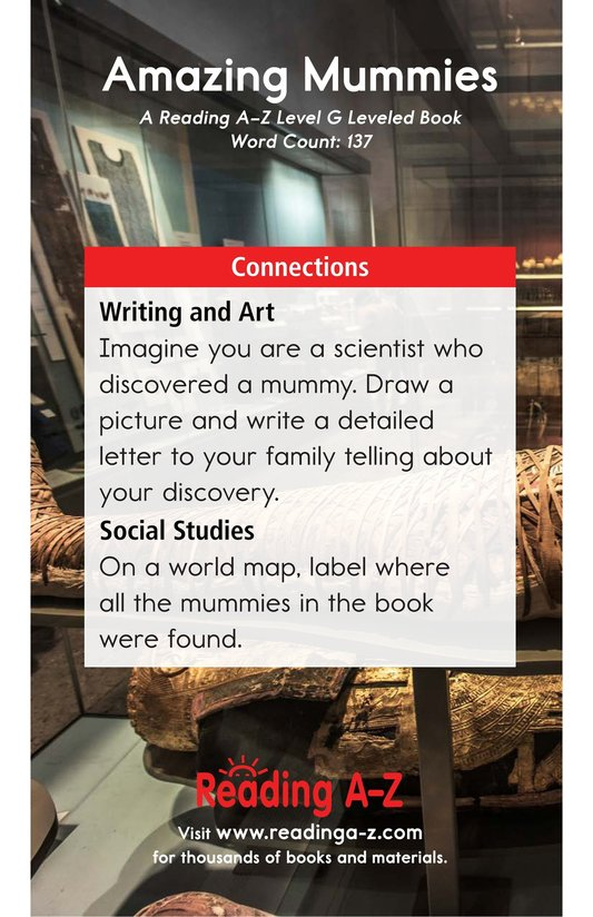 Book Preview For Amazing Mummies Page 13