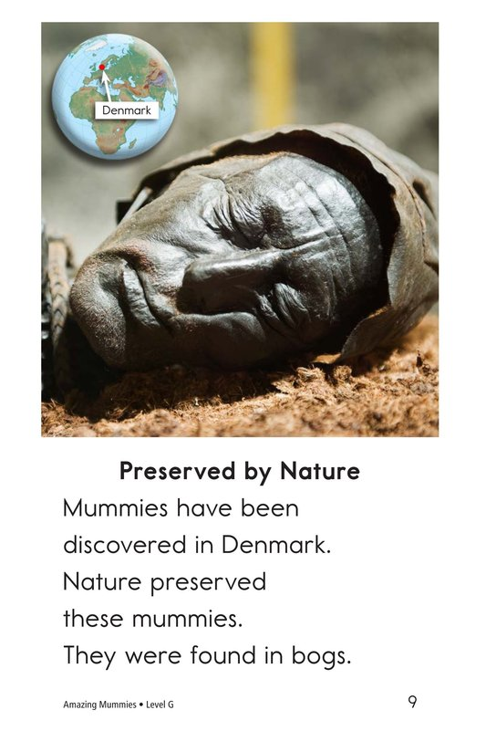 Book Preview For Amazing Mummies Page 9
