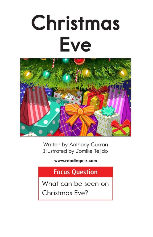 Book Preview For Christmas Eve Page 1