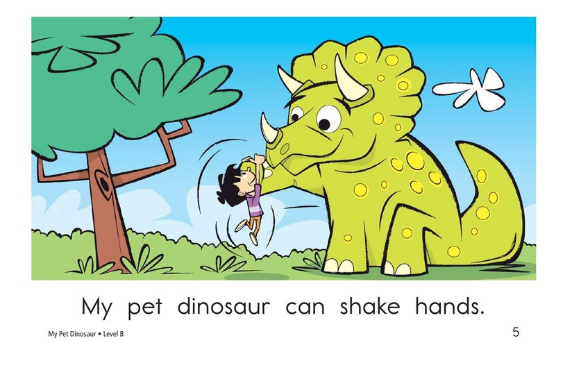 Book Preview For My Pet Dinosaur Page 5