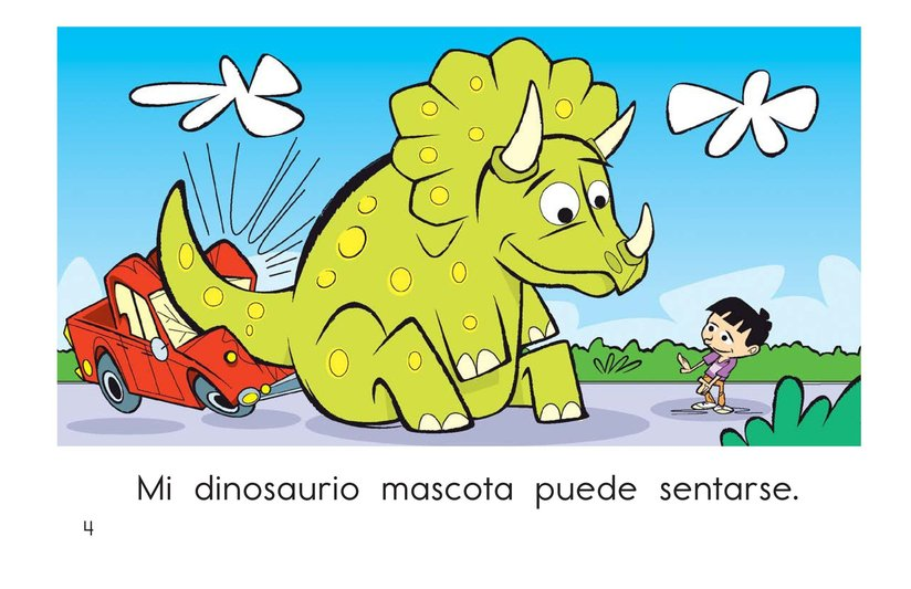 Book Preview For My Pet Dinosaur Page 4