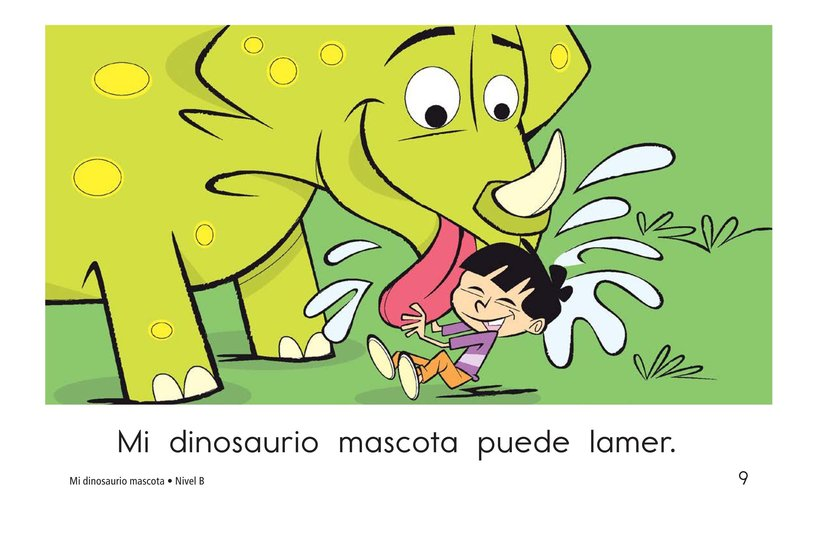 Book Preview For My Pet Dinosaur Page 9