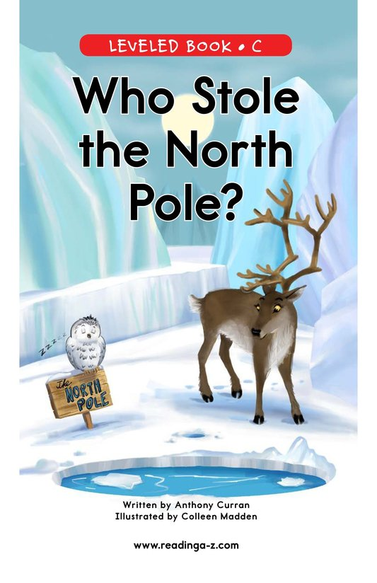 Book Preview For Who Stole the North Pole? Page 0