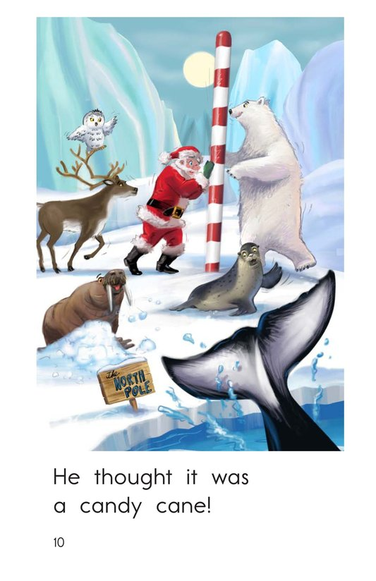 Book Preview For Who Stole the North Pole? Page 10
