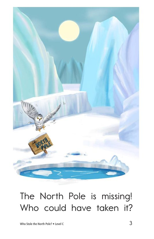 Book Preview For Who Stole the North Pole? Page 3