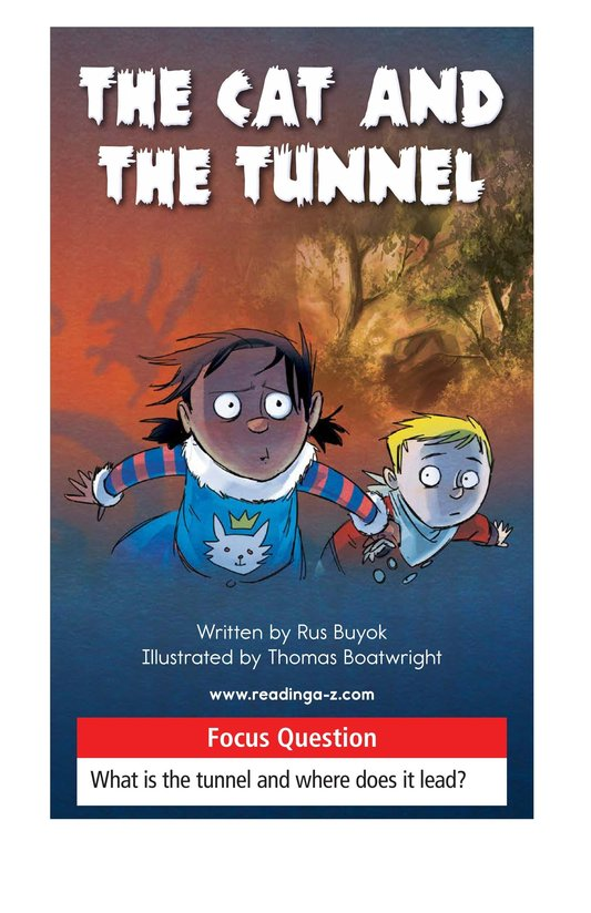 Book Preview For The Cat and the Tunnel Page 1