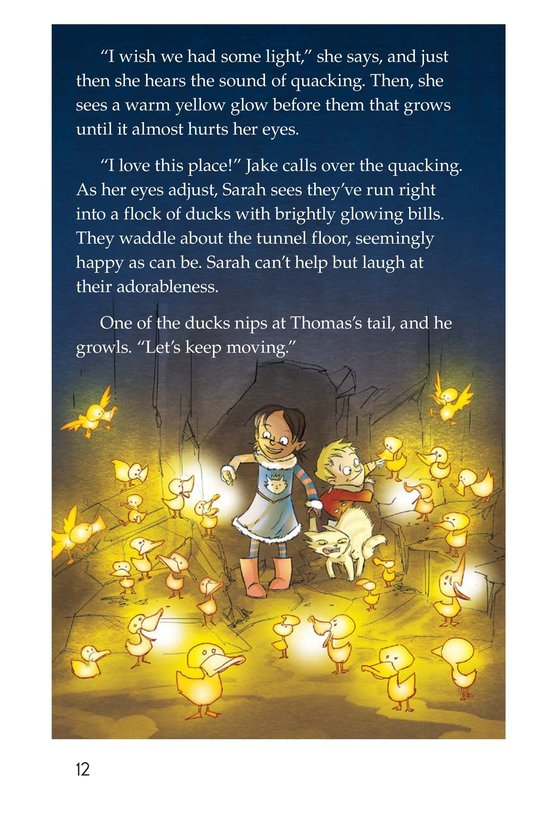 Book Preview For The Cat and the Tunnel Page 12
