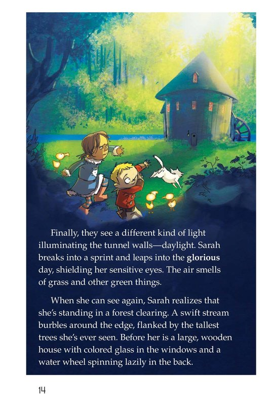 Book Preview For The Cat and the Tunnel Page 14