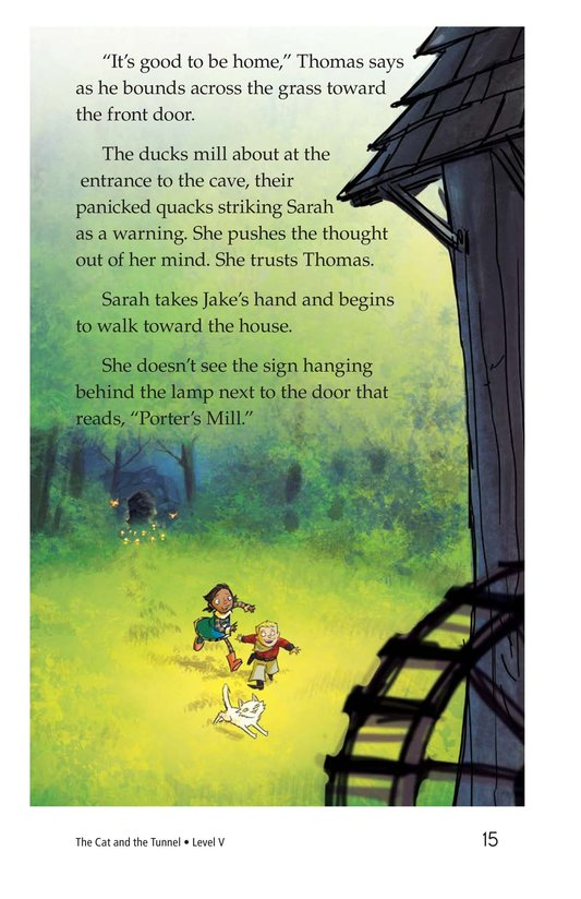 Book Preview For The Cat and the Tunnel Page 15
