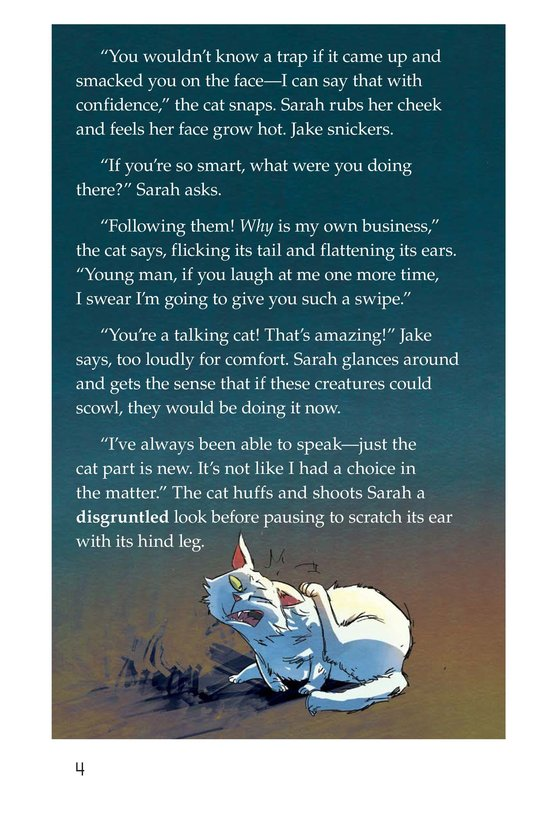 Book Preview For The Cat and the Tunnel Page 4