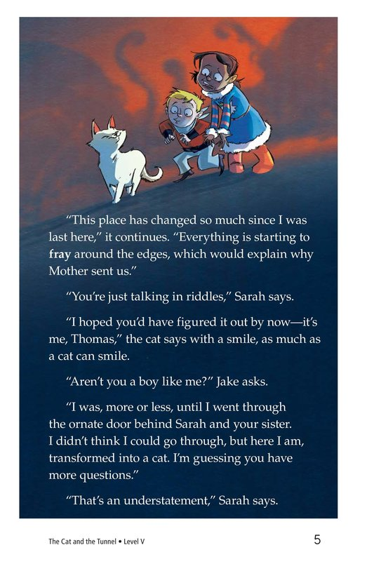 Book Preview For The Cat and the Tunnel Page 5