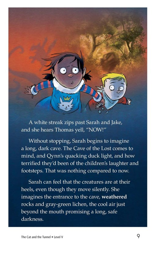 Book Preview For The Cat and the Tunnel Page 9