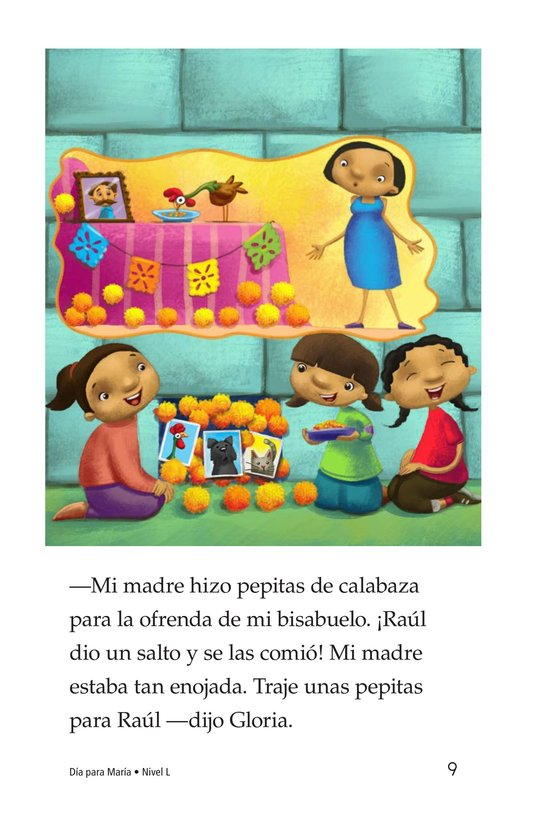 Book Preview For Día for María Page 9