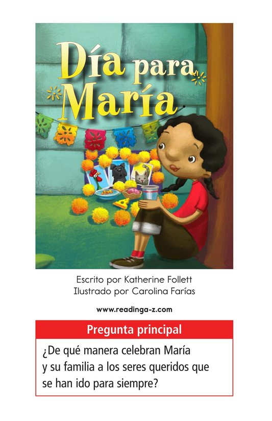 Book Preview For Día for María Page 1