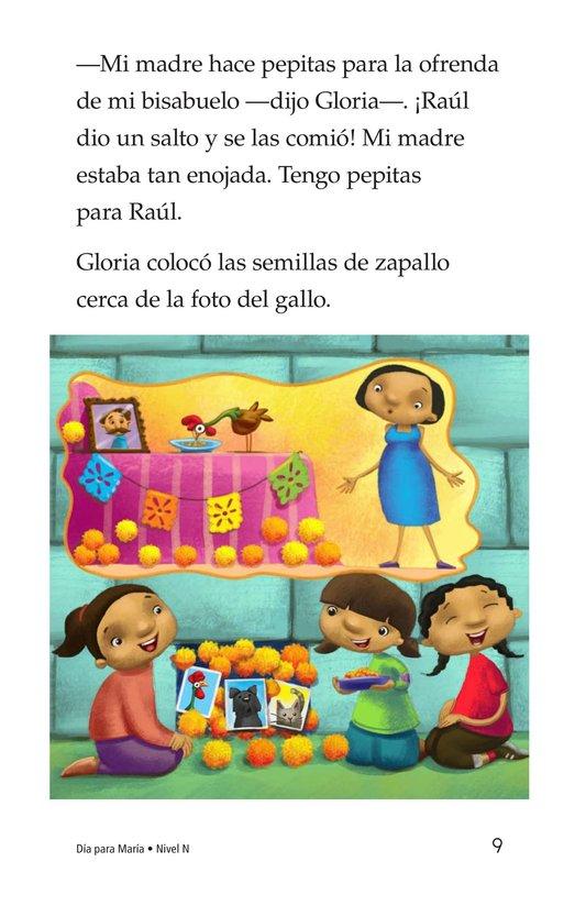 Book Preview For Día for María Page 9