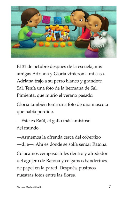 Book Preview For Día for María Page 7