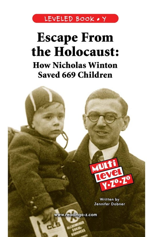 Book Preview For Escape From the Holocaust Page 0