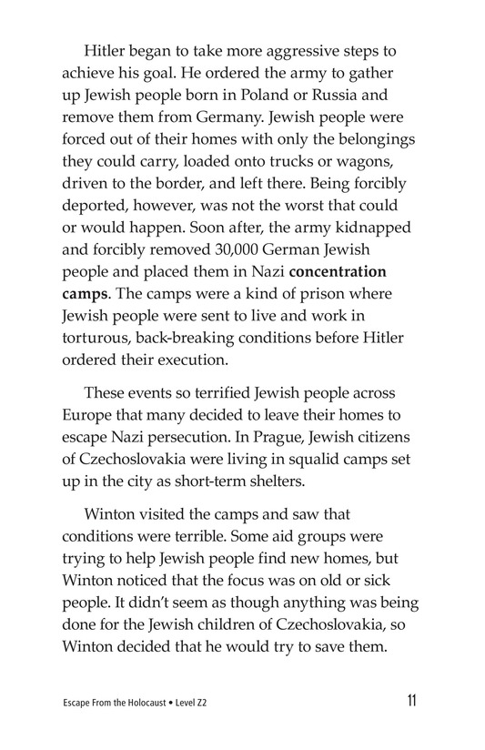 Book Preview For Escape From the Holocaust Page 11