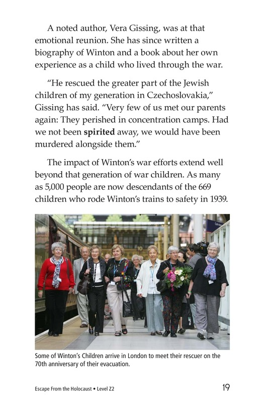 Book Preview For Escape From the Holocaust Page 19