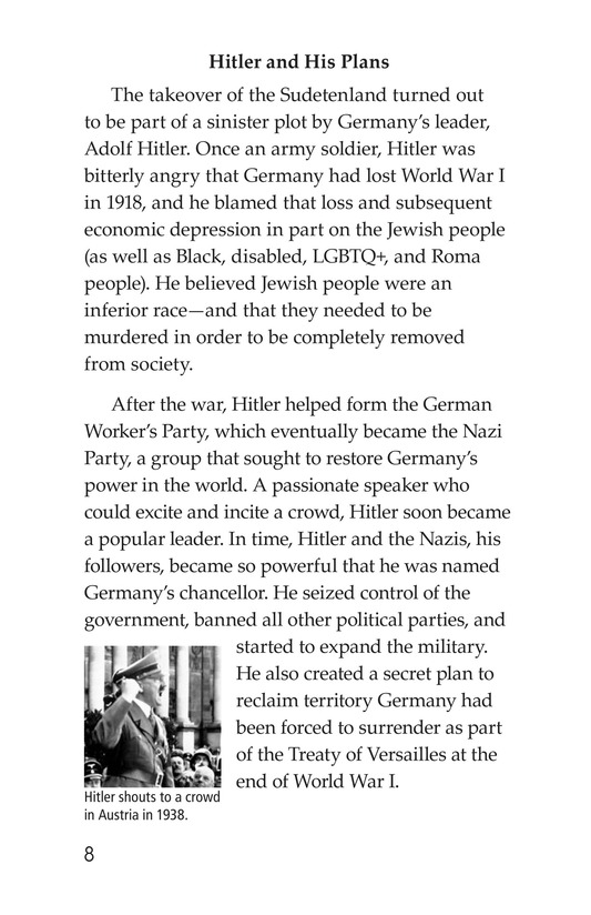 Book Preview For Escape From the Holocaust Page 8