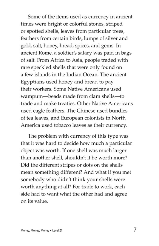 Book Preview For Money, Money, Money Page 7