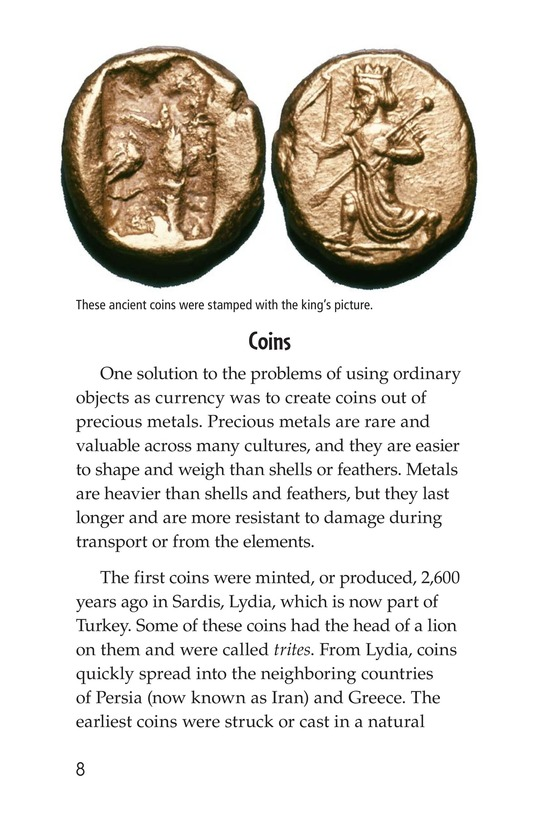 Book Preview For Money, Money, Money Page 8