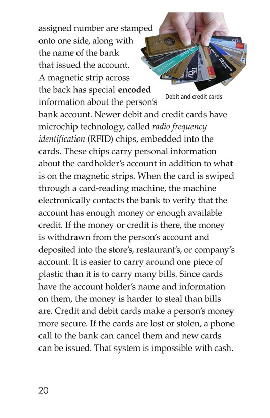 Book Preview For Money, Money, Money Page 20