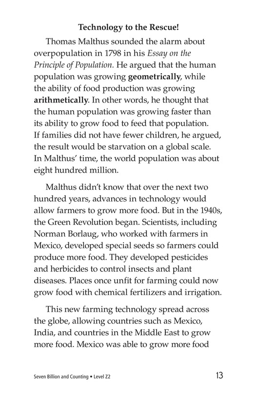 Book Preview For Seven Billion and Counting Page 13