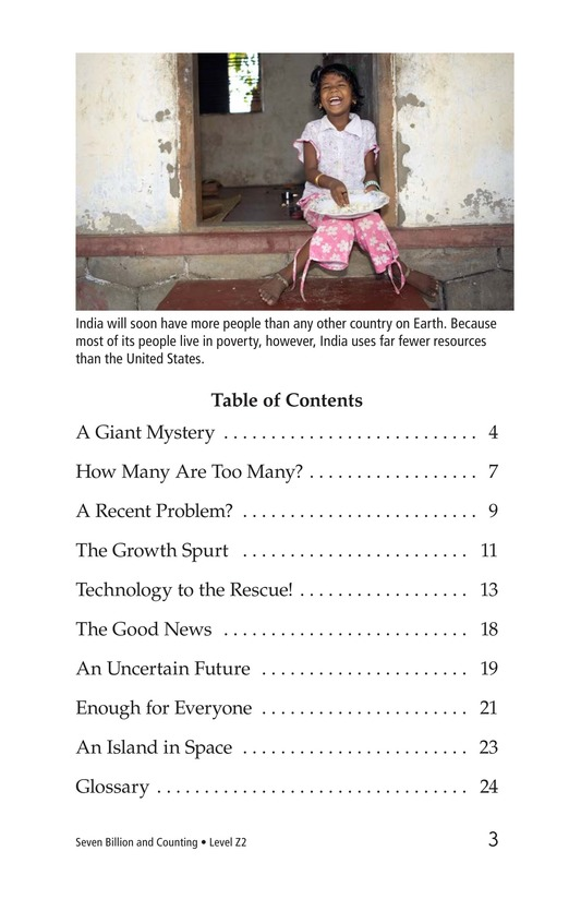 Book Preview For Seven Billion and Counting Page 3