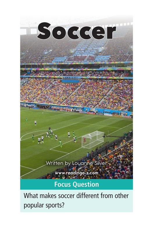 Book Preview For Soccer Page 1