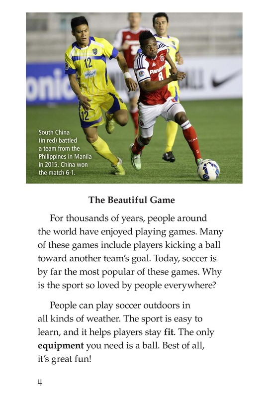 Book Preview For Soccer Page 4