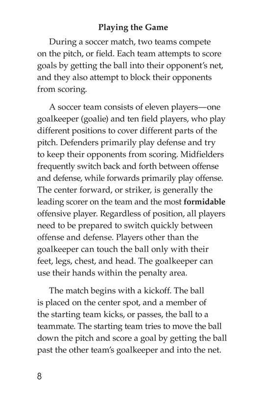 Book Preview For Soccer Page 8