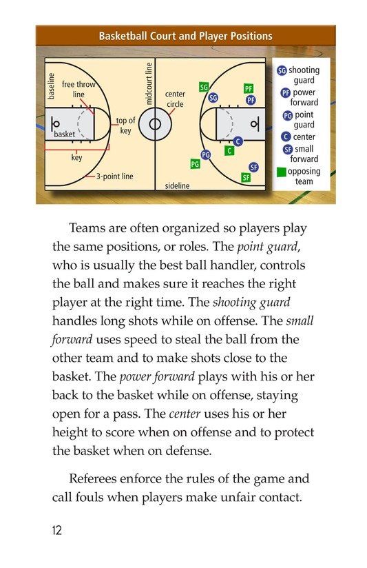 Book Preview For Basketball Page 12