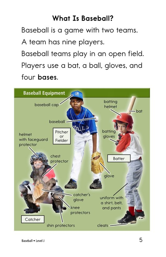 Book Preview For Baseball Page 5