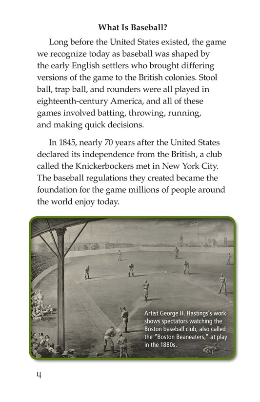 Book Preview For Baseball Page 4