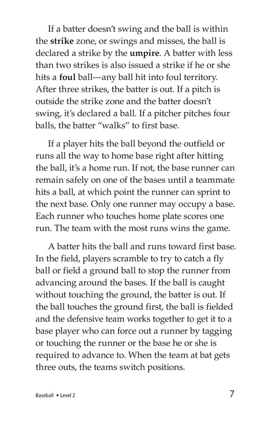 Book Preview For Baseball Page 7