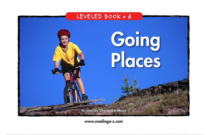 Book Preview For Going Places Page 1