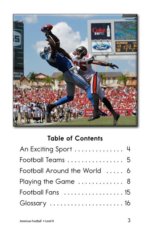 Book Preview For American Football Page 3
