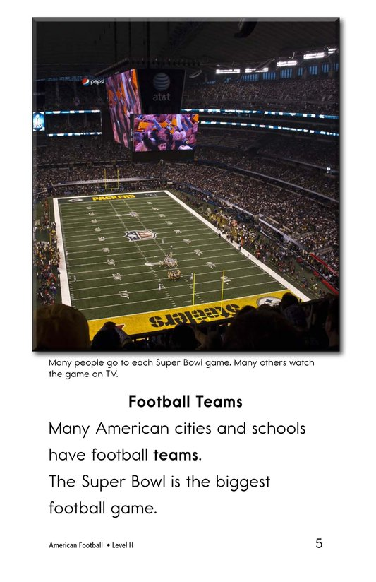 Book Preview For American Football Page 5