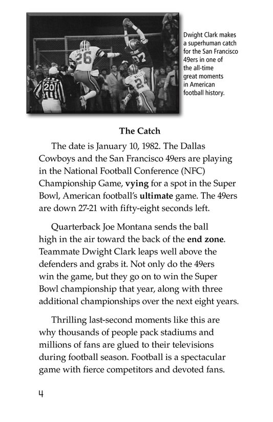 Book Preview For American Football Page 4