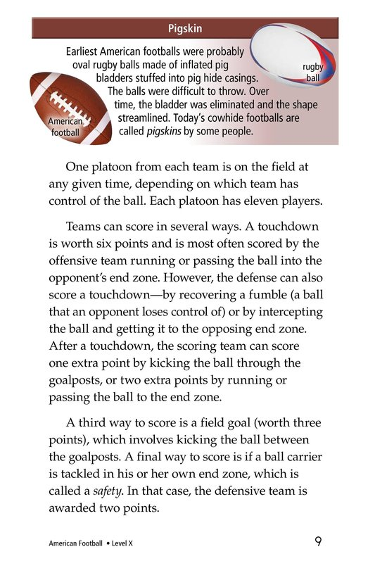 Book Preview For American Football Page 9