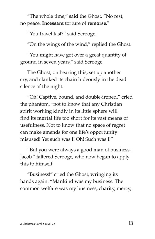 Book Preview For A Christmas Carol (Part 2) Page 13