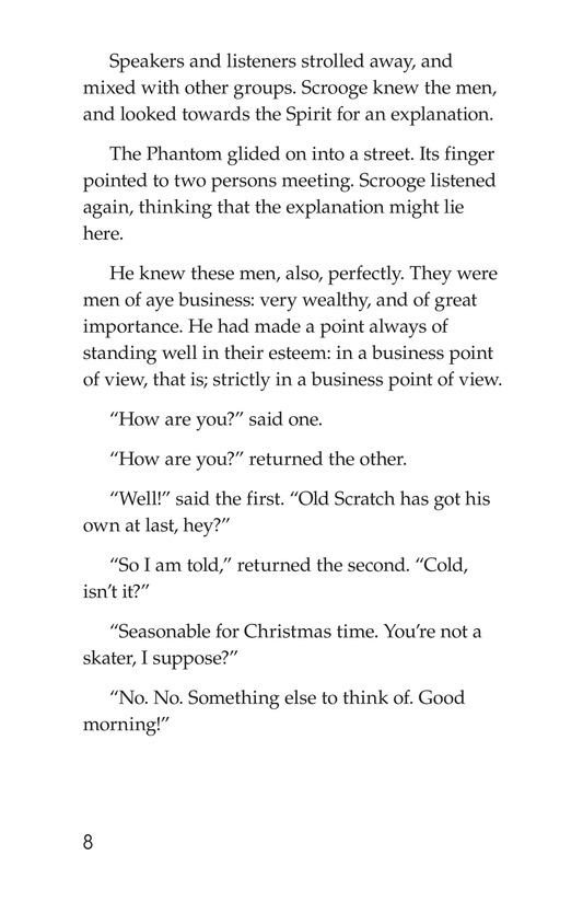 Book Preview For A Christmas Carol (Part 8) Page 8