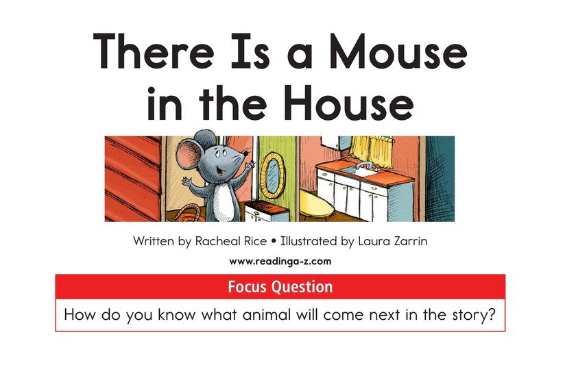 Book Preview For There Is a Mouse in the House Page 1